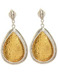 Gurhan Amulet 24k Over Silver Earrings - Metallic