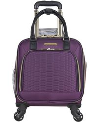 Aimee Kestenberg - Florence Python Printed 16in Underseater Carry On - Lyst