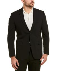 Theory Xylo Wool-blend Sport Coat - Black