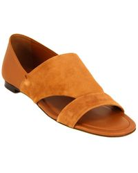 Tod's Tod?s Suede & Leather Sandal - Multicolour