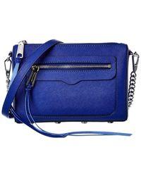 Rebecca Minkoff Avery Leather Crossbody - Blue