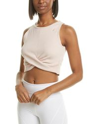 Reebok Novelty Crop Top - White