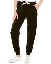 Sol Angeles Corded Mineral Jogger - Black