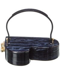 Edie Parker Heartly Clutch - Blue