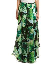 ESCADA Silk Skirt - Green