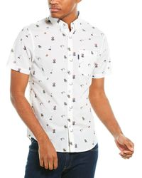 Original Penguin Woven Shirt - White