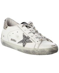 Golden Goose Deluxe Brand Superstar Leather Trainer - White