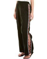 Johnny Was Linen Pant - Black