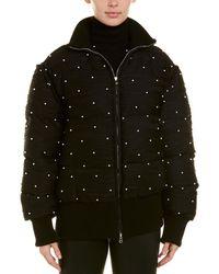 Prabal Gurung Convertible Puffer Jacket - Black