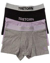 Tretorn Set Of 3 Trunk - Grey