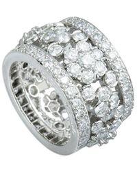 Van Cleef & Arpels Vintage Van Cleef & Arpels Platinum Diamond Ring - Metallic