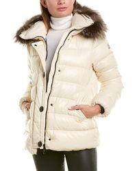 Moncler Down Coat - White