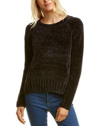 525 America Bouncy Chenille Pullover - Black