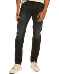 G-Star RAW - Raw 3301 Dark Aged Slim Leg Jean - Lyst