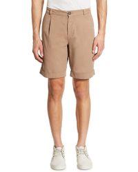 Brunello Cucinelli Rolled Cuffs Shorts - Natural