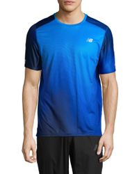 New Balance - Ice Crewneck T-shirt - Lyst