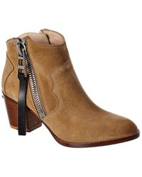Zadig & Voltaire Molly Suede Boot - Brown