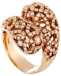 Roberto Coin 18k Rose Gold 1.46 Ct. Tw. Diamond Ring - Metallic