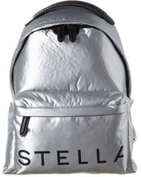 Stella McCartney Logo Print Backpack - Multicolour
