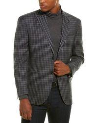 Michael Bastian Michael Bastion Grey Label Slim-fit Wool Blazer - Blue