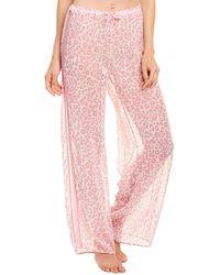 Cosabella Eleganza Printed Pant - Pink