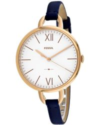 Fossil Women's Annette Watch - Metallic
