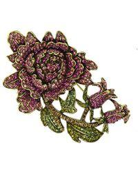 Heidi Daus Crystal Pin - Multicolour