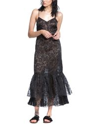 Tracy Reese Woven Dress - Black