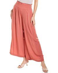 1.STATE Gauze Pant - Pink