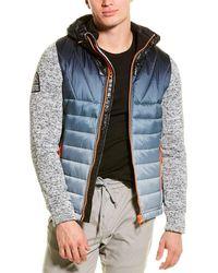 Superdry Storm Ombre Hybrid Jacket - Grey