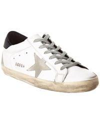 Golden Goose Deluxe Brand Superstar Leather Sneaker - White
