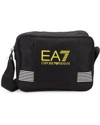 EA7 - Striped Front Crossbody Bag - Lyst