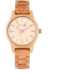 Earth Wood Unisex Tuckahoe Watch - Metallic