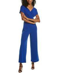 Alexia Admor Surplice Jumpsuit - Blue