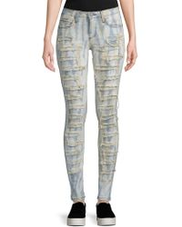 Robin's Jean - Florence Distressed Skinny Jeans - Lyst