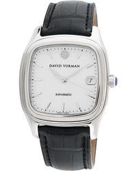 David Yurman Vintage Thoroughbred Stainless Steel Watch, 35mm - Multicolor