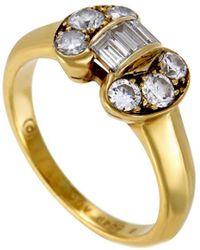 Van Cleef & Arpels Vintage - Van Cleef & Arpels 18k 0.50 Ct. Tw. Diamond Ring - Lyst