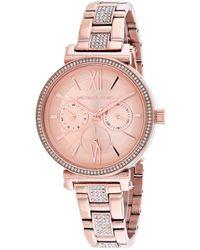 Michael Kors Sofie Watch - Pink