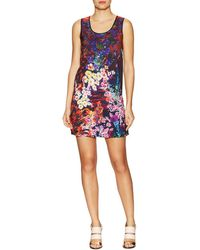 Clover Canyon Bright Blooms Shift Dress - Multicolor