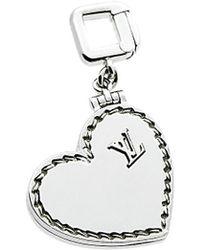 Louis Vuitton Louis Vuitton 18k Heart Locket Pendant - Multicolour