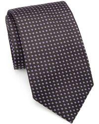 Saks Fifth Avenue - Collection Polka Dot Silk Tie - Lyst