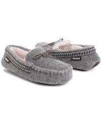 Muk Luks Moccasin Slipper - Grey