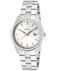 Rado Women's Ceramos Diamond Watch - Metallic