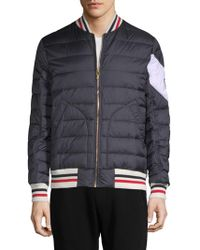 Moncler | Quilted Bomber Jacket | Lyst
