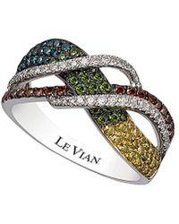 Le Vian Exotics? 14k 0.85 Ct. Tw. Diamond Ring - Metallic