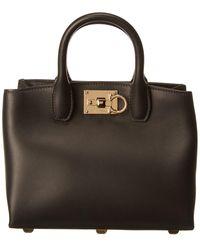 Dior Black The Studio Mini Top Handle Bag