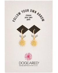 Dogeared - Reminder 14k Plated Earrings - Lyst