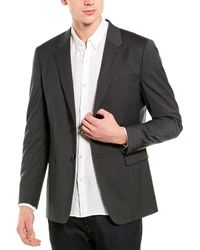 Theory Wool-blend Sportcoat - Grey