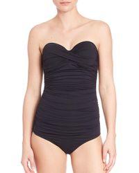 Elizabeth Hurley Beach - One-piece Olympia Swimsuit - Lyst