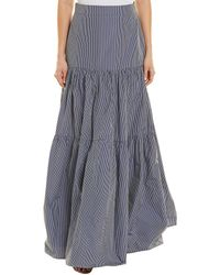 Alexis Laurel Skirt - Blue